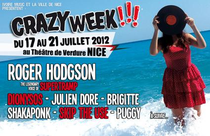 Crazy Week, un festival qui attirent les bénévoles ( Photo pub Crazy Week )
