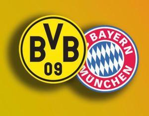 Le Borussia Dortmund et le Bayern Munich, têtes d'affiche de ce football allemand. Montage Hassen Gallah.
