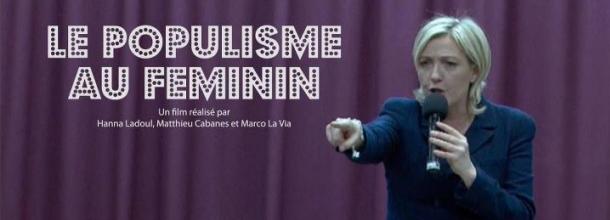 L'affiche du film : le Populisme au Féminin
