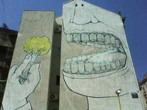 Le street art nous régale ! Photo D.R.