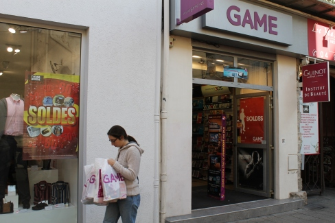 Les gamers se précipitent dans les magasins pour profiter de tarifs imbattables   Photo C.N.