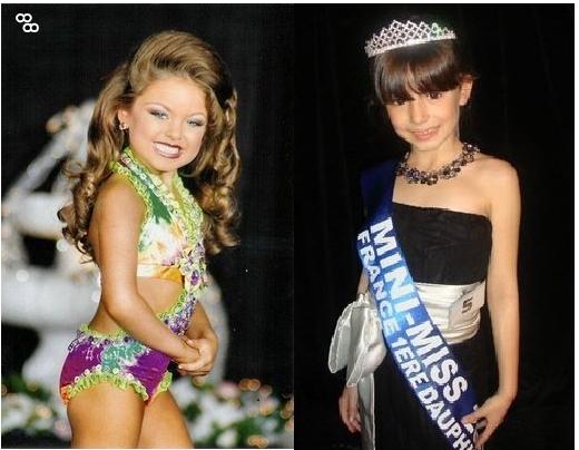 Concours de mini-miss. Crédit: D.R.