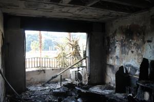 Les vitres ont explosé à l'entrée en un fracas retentissant. (Maxime Morin)