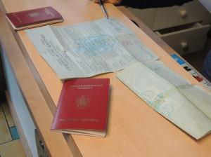 Pour l'inscription, certificat de naissance, passeport, vaccins sont nécessaires. Photo : M.G./E.S.