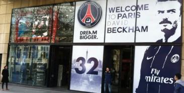 Le PSG aux couleurs de l'Anglais. Photo : DR