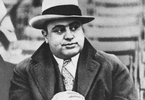 Al Capone. Photo : DR