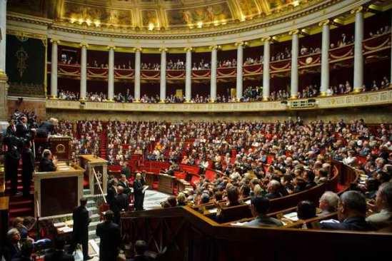 L'hémicycle de l'Assemblée nationale. Photo : DR