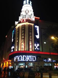 Le Grand Rex accueillait Woodkid en septembre 2012. Photo : DR Woodkid/Facebook