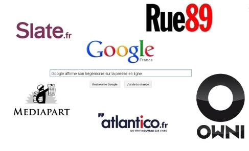 Google et la presse française multimédia enfin réconciliés. Image : V.V.