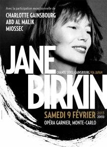 Jane Birkin, radieuse sur l'affiche de l'évènement. Photo : DR