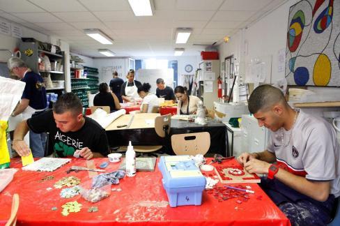 L'association Mosaïcités à Nice, participe à la réinsertion des jeunes, notamment les ex-détenus. Photo : DR