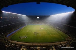 Le stade de Twickenham, antre du XV de la Rose.