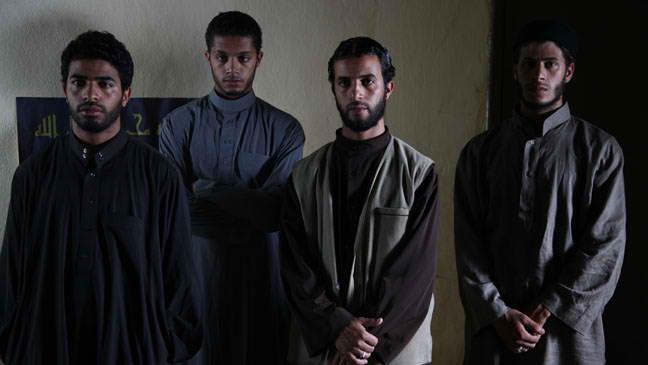 Yachine, Nabil, Hamid et Fouad deviendront martyrs. Photo :DR