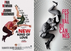 L'affiche du film ainsi que celle du Festival de Cannes. Photo : DR