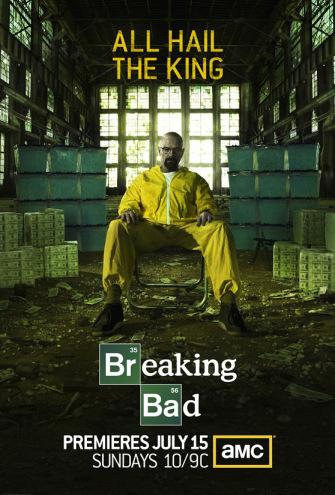 La seconde partie de « Breaking Bad » sera diffusée cet été sur AMC, clôturant la série. Photo : DR