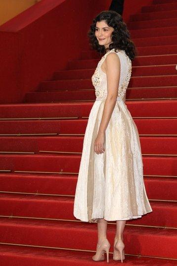 Audrey Tautou à Cannes en 2012 où elle présentait Thérèse Desqueyroux de Claude Miller. Photo : D.R