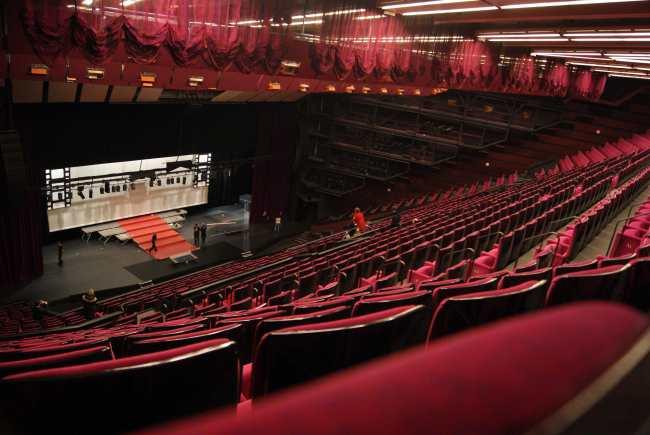 Le Grand Auditorium...vide ! Photo : VV