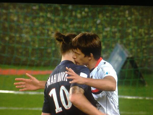 Civelli aussi aime Zlatan... un peu trop ! Photo: DR