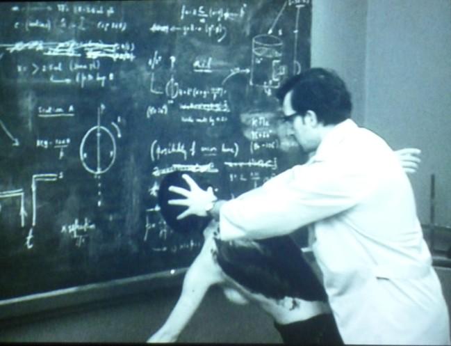 Professore : La méthode expérimentale à l'étude des phénomènes de la vie ; l'oeuvre de Stéphane Graff. Photo : J.R