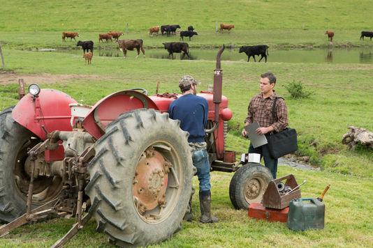 Pour contrer Frank Yates, les deux employés de Global vont démarcher auprès de tous les agriculteurs. Photo : DR