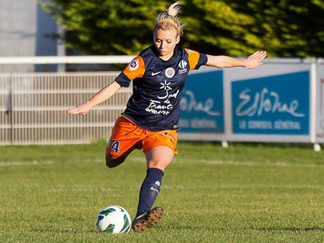 Marion Torrent a gravi tous les échelons à Montpellier, et s'est imposée comme une titulaire indiscutable de l'équipe fanion. Photo : DR