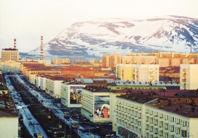 Norilsk, ville fermée industrielle en Sibérie. Source : DR