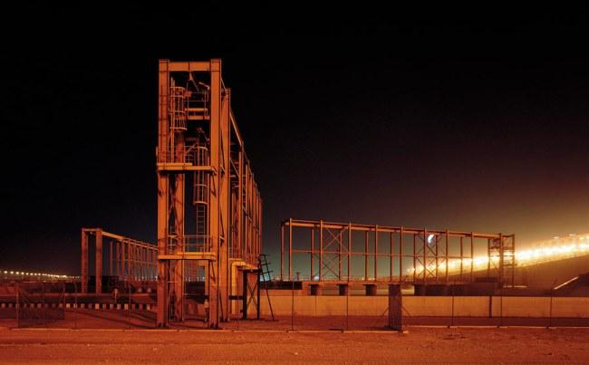 Ras Laffan au Qatar. Ville industrielle en pleine expansion. Source : DR