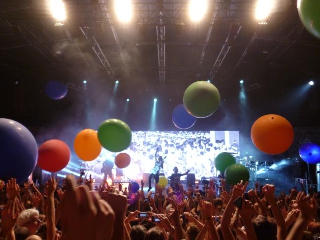 Thirty Seconds To Mars a livré un spectacle grandiose. Photo : Juliette Redivo