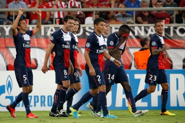 Marquinhos a été titulaire pour la première fois et a inscrit son premier but sous son nouveau maillot. Crédit photo: DR