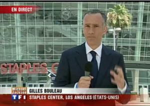 Gilles Bouleau ici aux Etats-Unis lorsqu'il était correspondant pour TF1. (francesoir.fr)