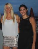 Anja Antonijevic et Eva Yaneva, une assurance de sécurité (Photo N.GOURDOL)