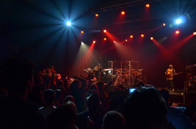 Steel Pulse a joué devant 700 personnes au Théâtre Lino Ventura (Photo : Juliette Redivo)