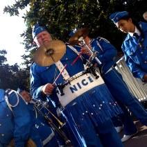 Des musiciens de Nice ont eux aussi défilé. Crédit : V.V.