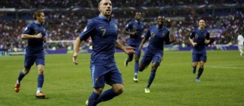 L'équipe de France a marqué 13 buts lors de ses trois derniers matchs.  D.R.