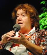"""Janine Gdalia a su conquérir un large public avec son essaie """"Femmes et révolution en Tunisie"""", éditions Le chèvre feuille étoilée. (Photo Nathan Gourdol)"""