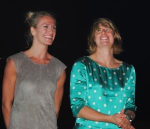 Maret Grothues et Freya Albrecht, avec ces deux là, la puissance cannoise sera redoutable. (Photo N.GOURDOL)