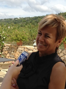 Marie-Louise Gourdon, instigatrice et commissaire du Festival du livre de Mouans-Sartoux depuis 26 ans. (Crédit : Charlotte Palau)