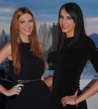 Milena Rasic (à droite)tient actuellement la meilleure forme de sa carrière. (Photo N.GOURDOL)