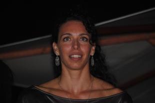 Nadia Centoni, la star italienne de l'équipe cannoise. (Photo N.GOURDOL)