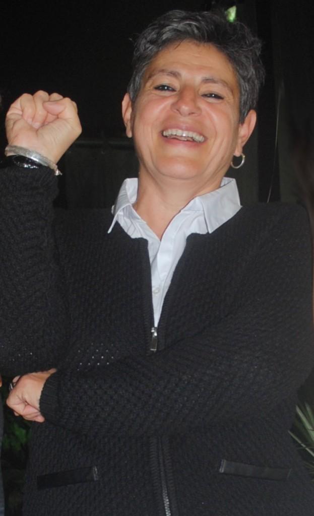 Nadia El Fani au festival de Mouans-Sartoux. (Crédit photo : Nathan Gourdol)