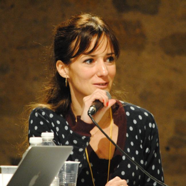Alice Antheaume s'est prêté avec le sourire au jeu de l'interview (crédit: NG)