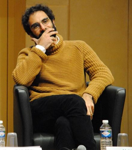 Nabil Wakim, rédacteur en chef du Monde.fr estime que les débats autour de la prise de position étaient nécessaires, pour les besoins du collectif (Photo Nathan Gourdol).