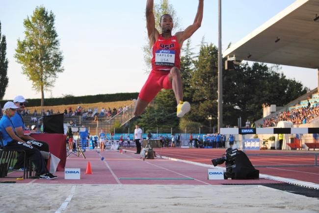 Le point fort de Christian Taylor est la mise en action de ses sauts. (Photo Nathan Gourdol)