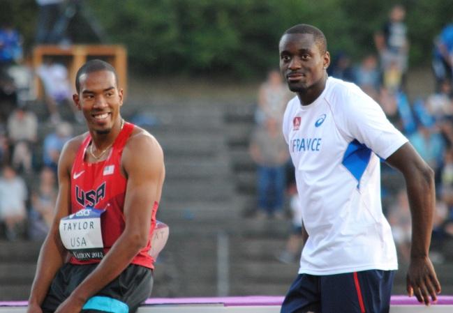 Christian Taylor reste le concurrent numéro 1 de Teddy Tamgho, le français champion du monde 2013. (Photo Nathan Gourdol)
