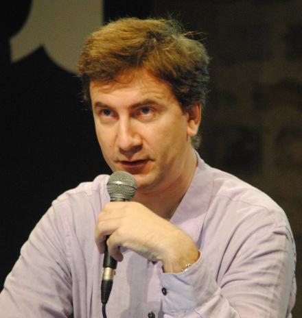 Eric Lagneau, journaliste à l'AFP et chercheur au Laboratoire Institut Marcel Mauss, a illustré les débats avec le cas des transformations de l'AFP. (Photo Nathan Gourdol)