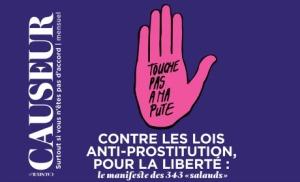 Le magazine Causeur lance le manifeste des 343 salauds (D.R.)