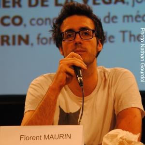 Florent Maurin est un des précurseurs du newsgame en France. Pour lui, il constitue un média à part entière. (Photo Nathan Gourdol)