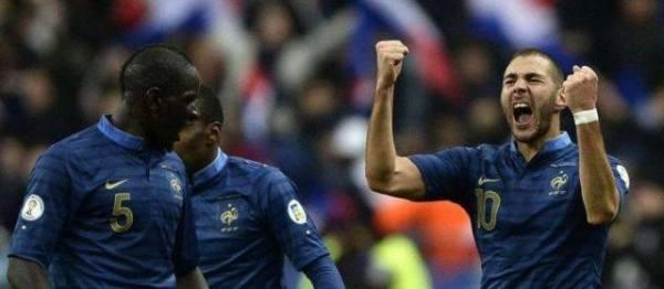 Karim Benzema : « ce n'est que du bonheur. On s'est qualifié avec la manière, du spectacle et trois buts. C'est magnifique. C'est ma plus belle émotion sous le maillot bleu. » (crédit DR)