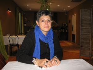 Nadia El fani se trouvait au Festival du livre pour présenter ses documentaires et participer à des débats. M.E