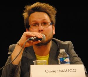 """Olivier Mauco l'affirme, """"ll faut arrêter de croire que ce sont des gamers purs qui utilisent les newsgames"""". (Photo Nathan Gourdol)"""